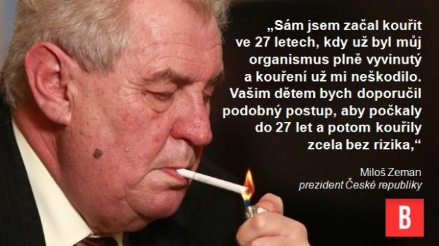 Facebook masáž kouření